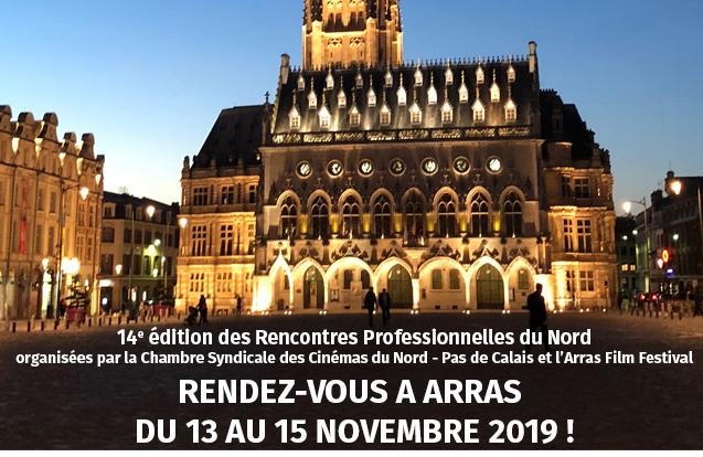 Rendez-vous à Arras du 13 au 15 novembre 2019 !